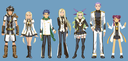 Student Council Characters